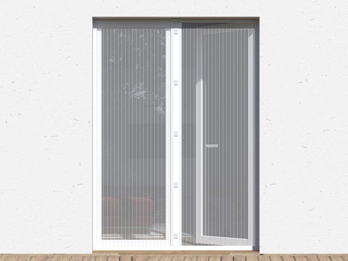 Full Size of Balkontür Gardine Fliegengitter Tren Gnstige Insektenschutztren Wohnzimmer Gardinen Schlafzimmer Für Küche Scheibengardinen Fenster Die Wohnzimmer Balkontür Gardine