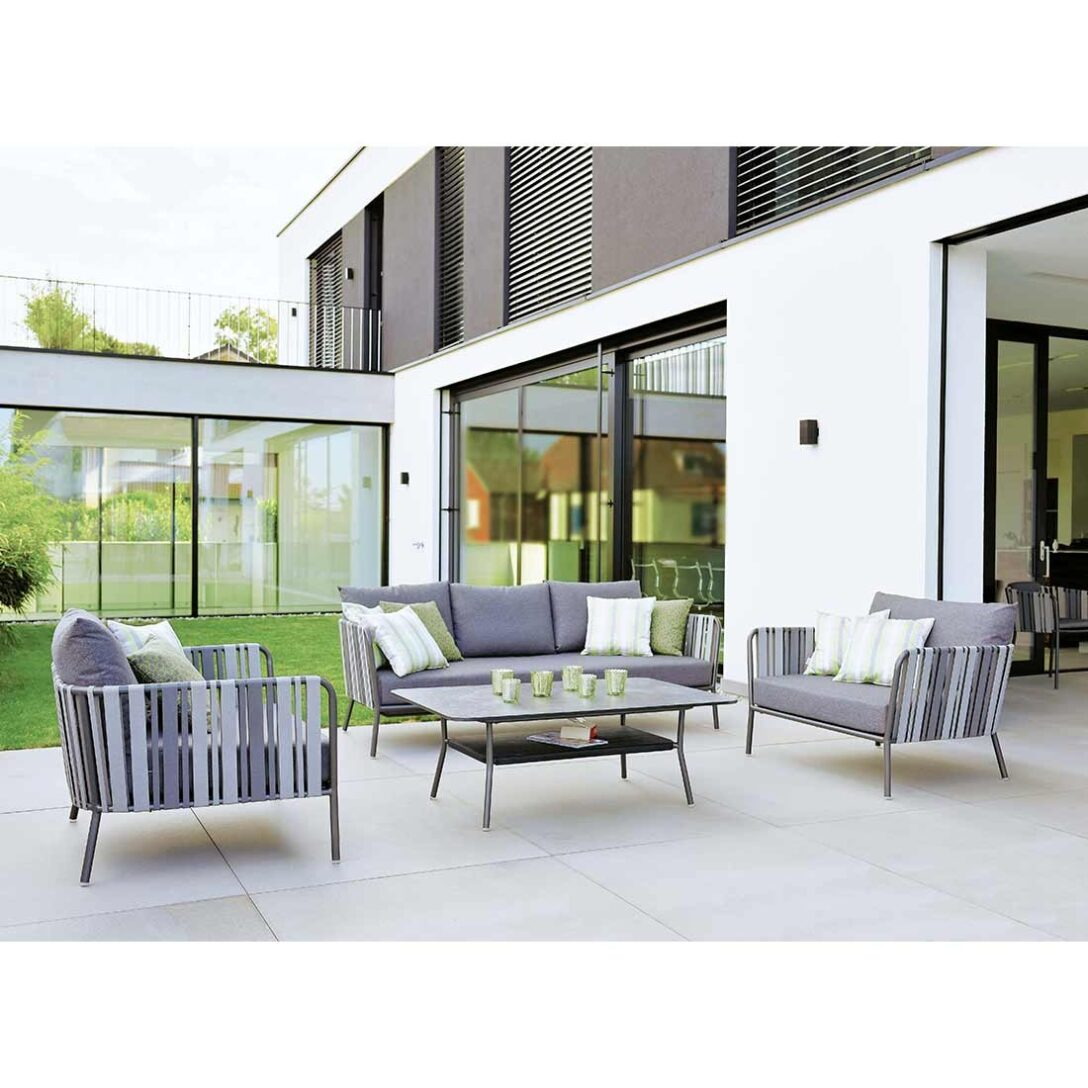 Large Size of Loungemöbel Alu Stern Space Sofagruppe 4 Teilig Aluminium Gurtbespannung Garten Fenster Holz Aluplast Preise Günstig Verbundplatte Küche Wohnzimmer Loungemöbel Alu
