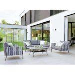 Loungemöbel Alu Stern Space Sofagruppe 4 Teilig Aluminium Gurtbespannung Garten Fenster Holz Aluplast Preise Günstig Verbundplatte Küche Wohnzimmer Loungemöbel Alu