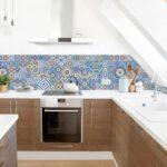 Fliesenspiegel Küche Selber Machen Küchen Regal Glas Wohnzimmer Küchen Fliesenspiegel