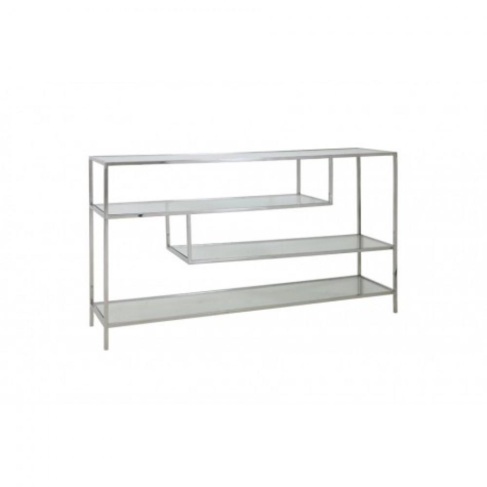 Full Size of Konsole Silber Bett Metall Regal Weiß Regale Wohnzimmer Regalwürfel Metall