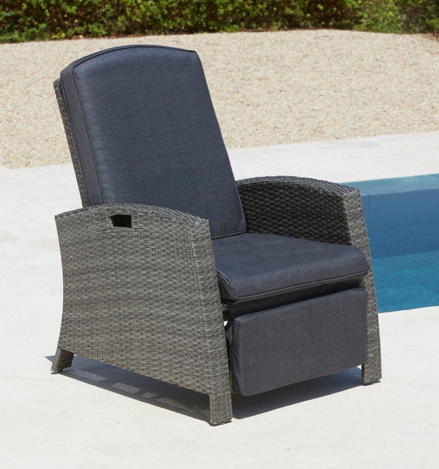 Full Size of Liegesessel Verstellbar Konifera Relaxsessel Polyrattan Sofa Mit Verstellbarer Sitztiefe Wohnzimmer Liegesessel Verstellbar