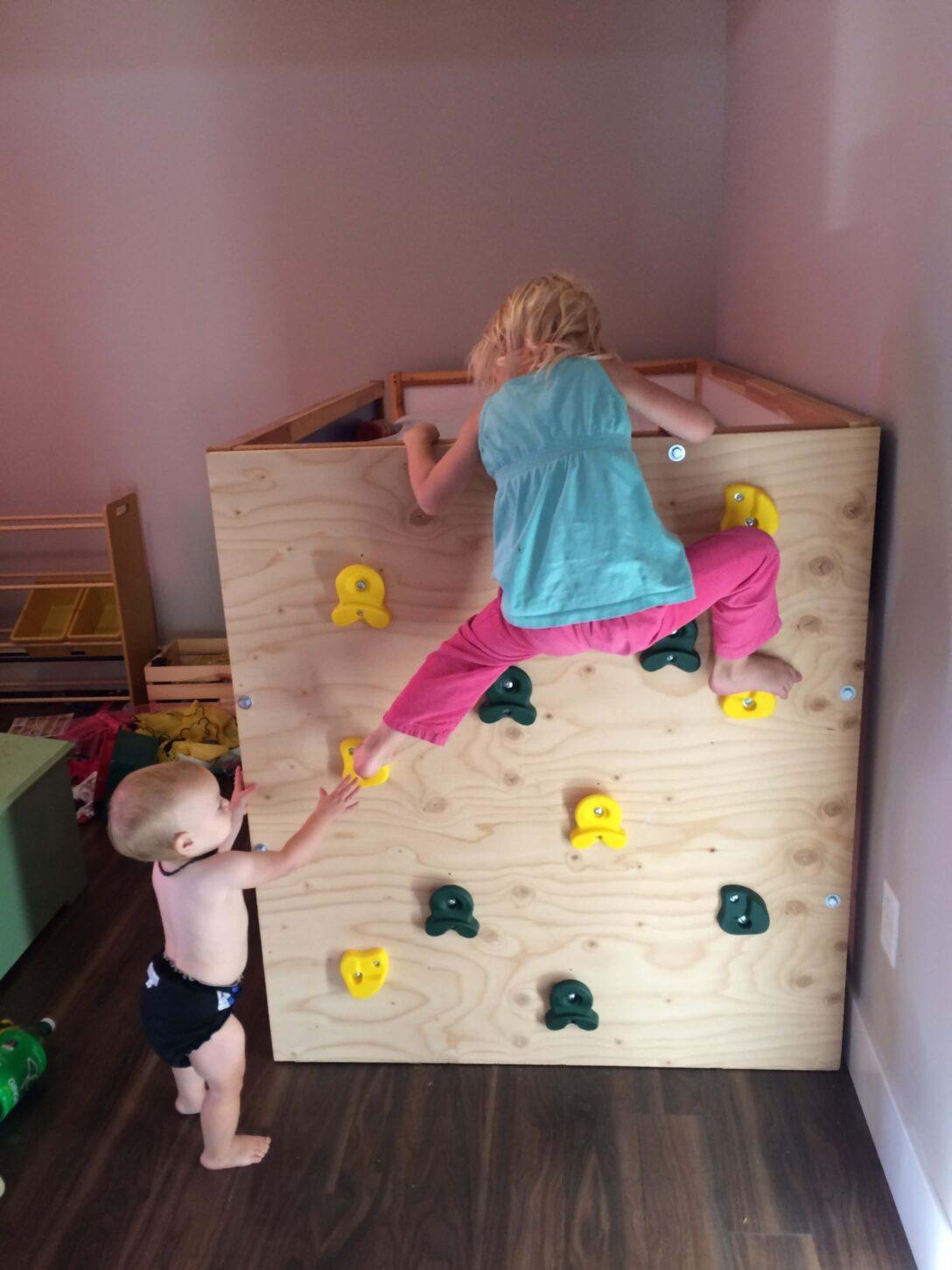 Large Size of Kura Hack Ikea Bed Climbing Wall As Time Flies Wohnzimmer Kura Hack