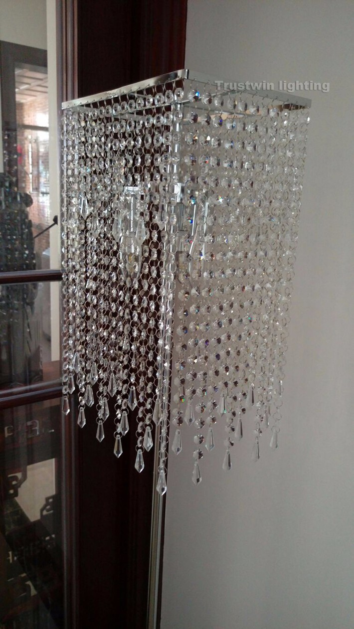 Full Size of  Wohnzimmer Kristall Stehlampe