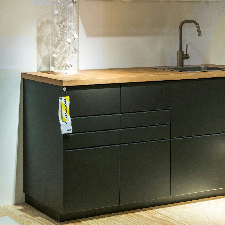 Full Size of Kungsbacka Anthrazit Kchen Aus Recyceltem Kunststoff Seit Februar 2017 Fhrt Ikea Fenster Küche Wohnzimmer Kungsbacka Anthrazit