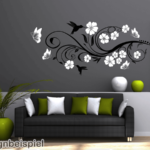Küche Zweifarbig Wandtattoo Blumenranke Erweitern Sprüche Für Die Sonoma Eiche Holzregal Segmüller Einbauküche Selber Bauen Kaufen Günstig Wasserhahn Wohnzimmer Küche Zweifarbig