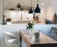 Wandregal Holz Küche