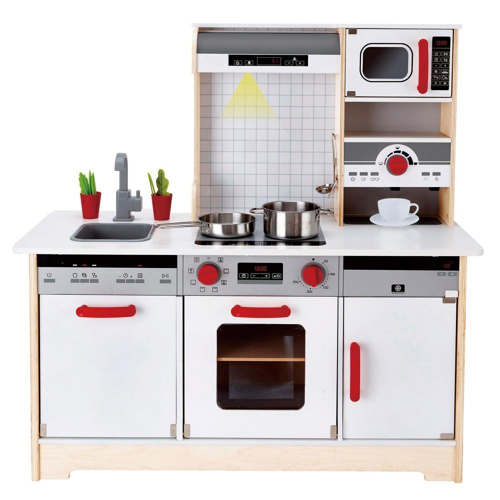 Full Size of Spielküche Multifunktionale All In One Spielkche Hape E3145 Per Kinder Wohnzimmer Spielküche