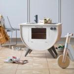 Sebra Spielkche Classic White Kinder Spielküche Wohnzimmer Spielküche