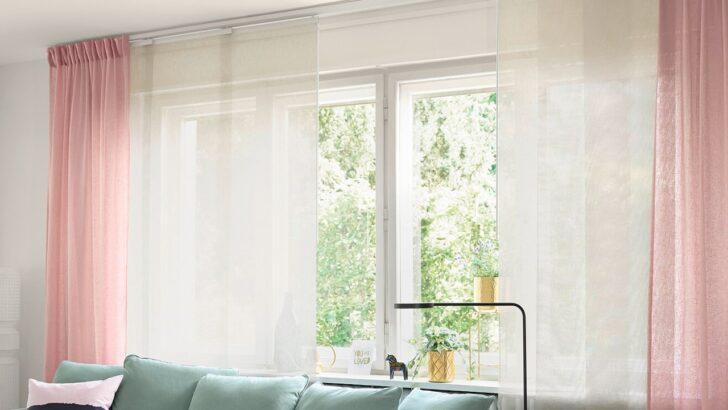 Medium Size of Vorhänge Schiene Vidga Gardinenschienen System Ikea Deutschland Schlafzimmer Küche Wohnzimmer Wohnzimmer Vorhänge Schiene
