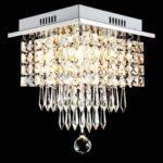 Deckenlampe Schlafzimmer Glighone Led Kristall Deckenleuchte Wohnzimmer Stehlampe Stehlampen Wohnzimmer Kristall Stehlampe