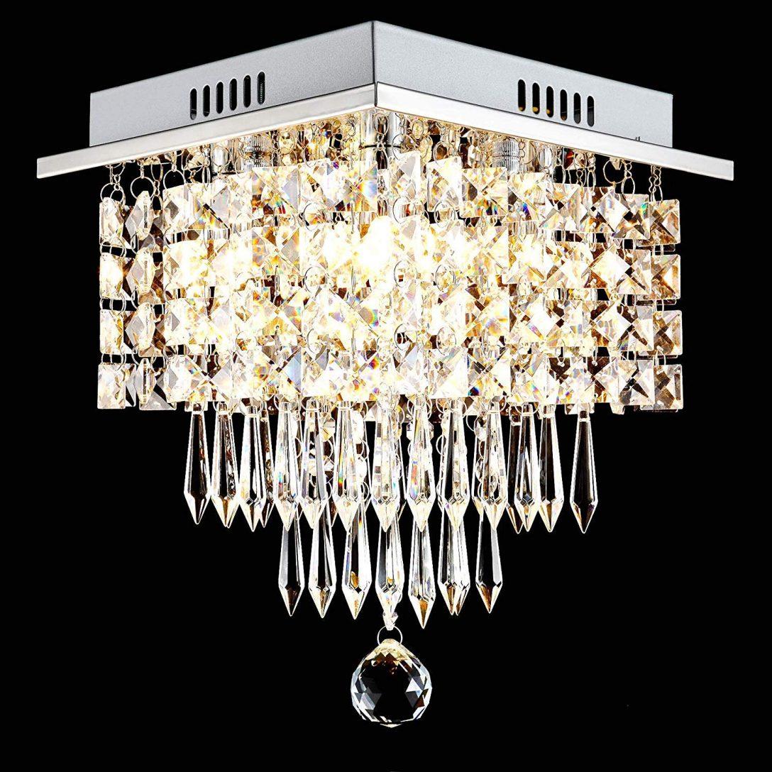 Full Size of Deckenlampe Schlafzimmer Glighone Led Kristall Deckenleuchte Wohnzimmer Stehlampe Stehlampen Wohnzimmer Kristall Stehlampe