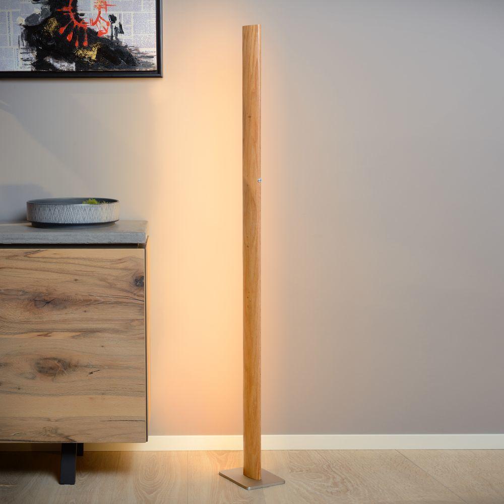 Full Size of Stehlampe Wohnzimmer Dimmbar Led Holz Stehleuchte Aus Hellem Lucide 48750 30 72 Tisch Teppich Hängeschrank Tischlampe Kommode Moderne Deckenleuchte Fototapete Wohnzimmer Stehlampe Wohnzimmer Dimmbar