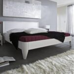 Bett 90x200 Weiß Weißes Mit Lattenrost Und Matratze Bettkasten Schubladen Betten Kiefer Wohnzimmer Seniorenbett 90x200