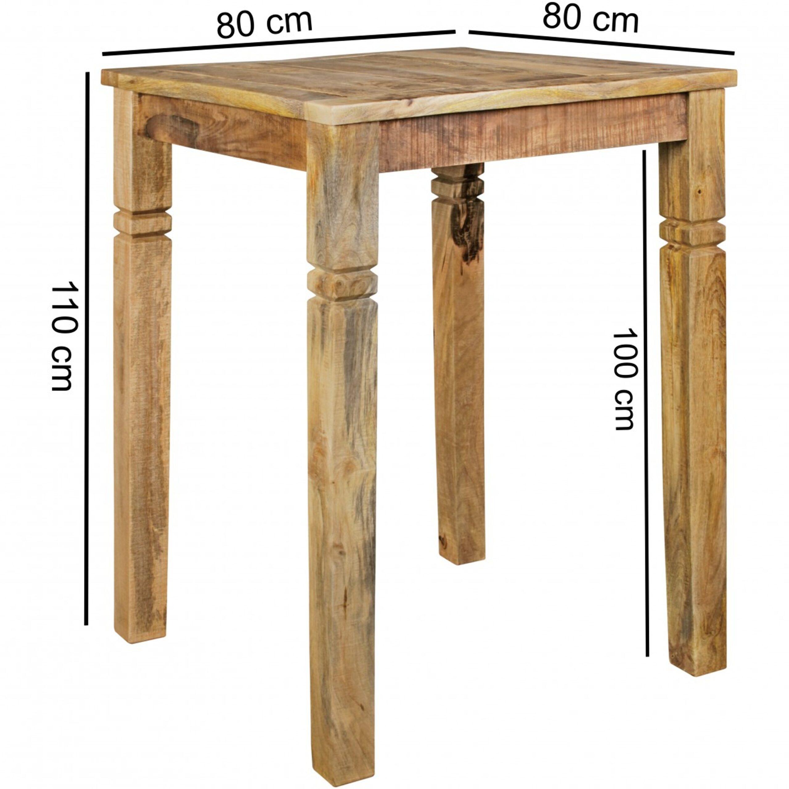 Full Size of Bartisch Rustica 80 110 Cm Massiv Holz Küchen Regal Küche Wohnzimmer Küchen Bartisch