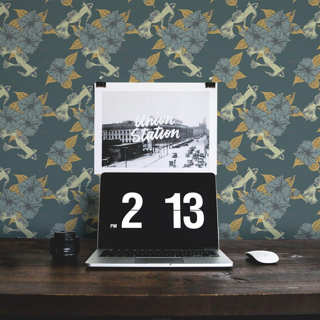 Large Size of Koi Fisch Tapete Le Jardin Japonais Wohnzimmer Gmm Berlincom Bett Landhausstil Boxspring Schlafzimmer Bad Regal Küche Sofa Weiß Wohnzimmer Küchentapete Landhausstil