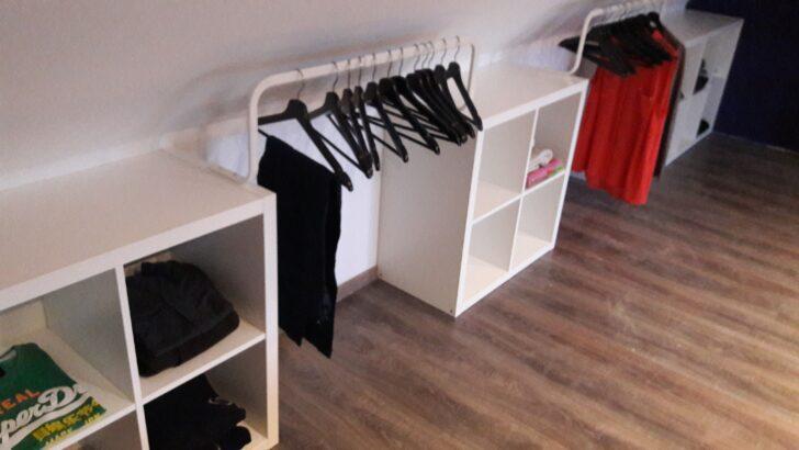 Medium Size of Dachschräge Schrank Ikea Simple And Efficient Dressing Made With Kallacloset An Spiegelschrank Bad Mit Beleuchtung Rolladenschrank Küche Badezimmer Wohnzimmer Dachschräge Schrank Ikea
