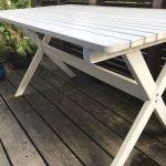 Gartentisch Ikea Tisch Garten Wei Holz Ngs In Wandsbek Sofa Schlaffunktion Küche Kaufen Kosten Betten 160x200 Bei Wohnzimmer Gartentisch Ikea