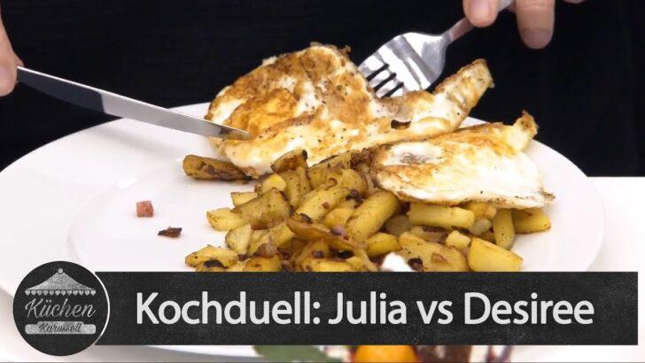Medium Size of Kchenkarussell Kochduell Julia Vs Desiree Aufz V 02102018 Wohnzimmer Küchenkarussell