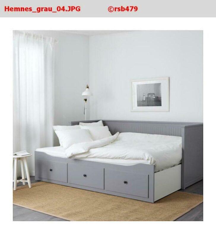 Medium Size of Bett Grau Tagesbett Graubraun 160 Lasiert Kaufen Ikea 90x200 180x200 Tagesbettgestell Gebraucht 160x200 Betten Düsseldorf 140x220 120 Weißes Kopfteil 140 Wohnzimmer Hemnes Bett Grau