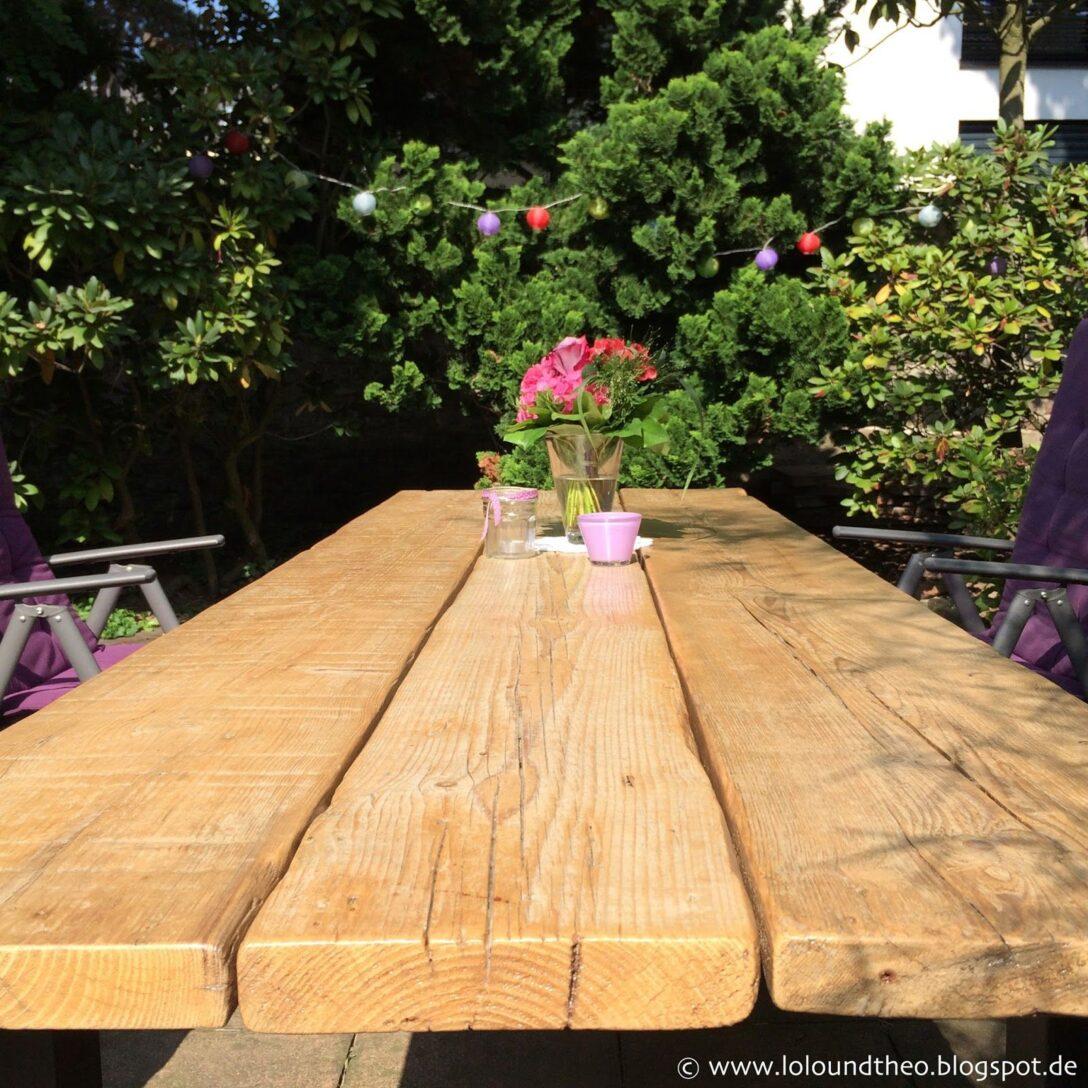 Large Size of Garten Holztisch Upcycling Diy Tisch Aus Alten Gerstdielen Klappstuhl Liegestuhl Gewächshaus Und Landschaftsbau Hamburg Holzhaus Spielturm Hängesessel Wohnzimmer Garten Holztisch