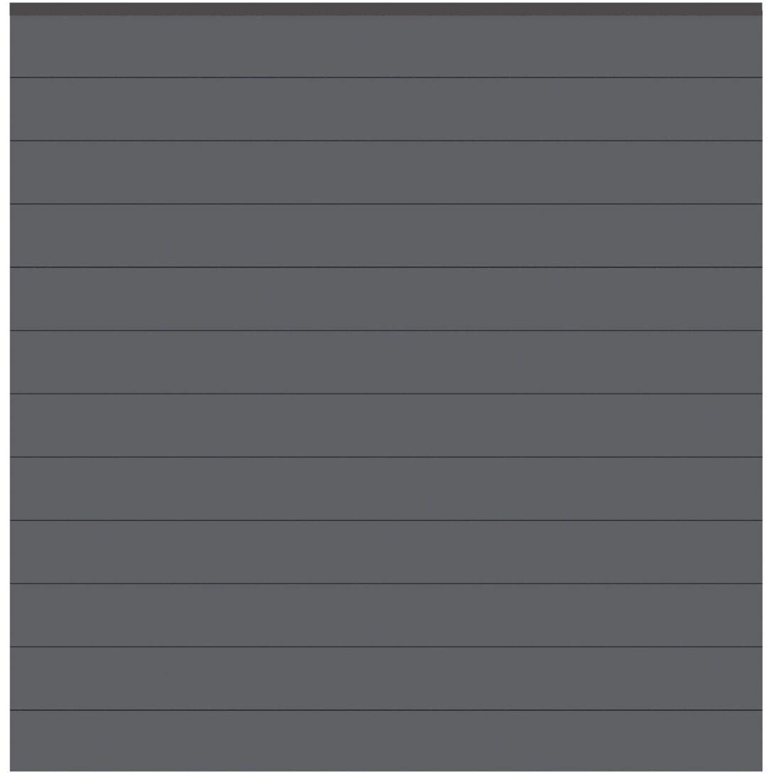 Large Size of Sichtschutzzaun Zaun Set System Alu Anthrazit 178 Cm 181 Sichtschutz Für Garten Regale Obi Sichtschutzfolien Fenster Sichtschutzfolie Einseitig Durchsichtig Wohnzimmer Obi Wpc Sichtschutz