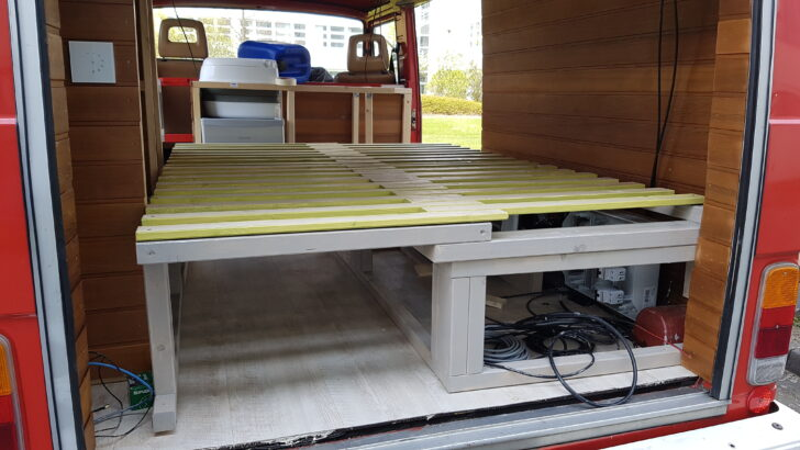 Medium Size of Von Der Feuerwehr Zum Wohnmobil Bett Mit Ausziehbett Wohnzimmer Ausziehbett Camper