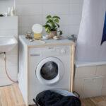 Küchenzeile Mit Waschmaschine Diy Waschmaschinen Verkleidung Bett Unterbett 180x200 Bettkasten Küche Kaufen Elektrogeräten Einbauküche E Geräten Sofa Wohnzimmer Küchenzeile Mit Waschmaschine