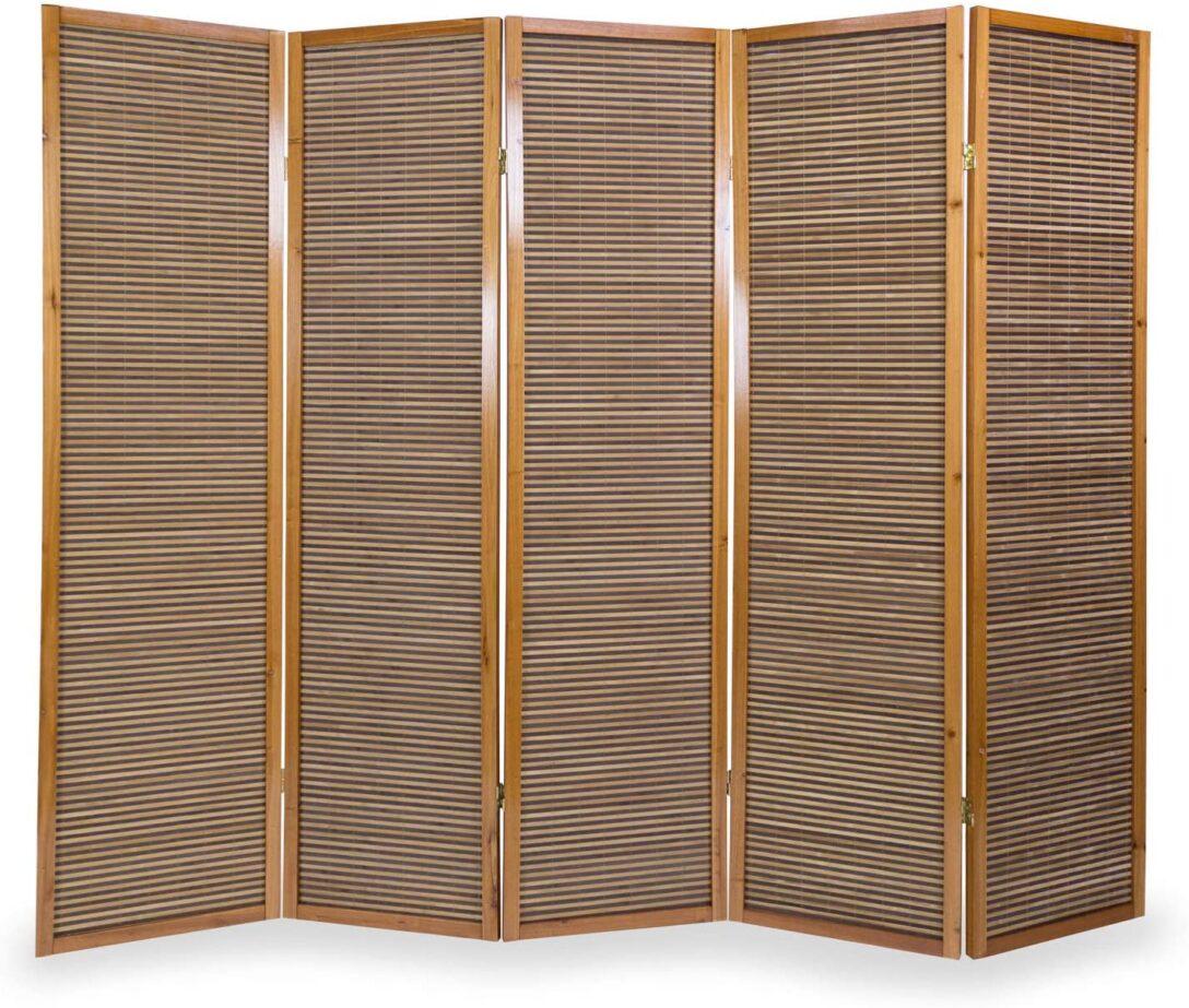 Large Size of Paravent Bambus Balkon Homestyle4u 383 Garten Bett Wohnzimmer Paravent Bambus Balkon