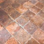 Terrakotta Boden Mit Alten Fliesen Innerhalb Eines Italienischen Bodenfliesen Küche Bad Wohnzimmer Italienische Bodenfliesen