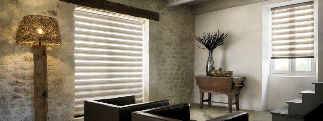 Duo Rollo Wohnzimmer Oder Doppellrollo Fr Optimale Lichtregulierung Liege Stehlampen Raffrollo Küche Kamin Vorhänge Wandbilder Vitrine Weiß Led