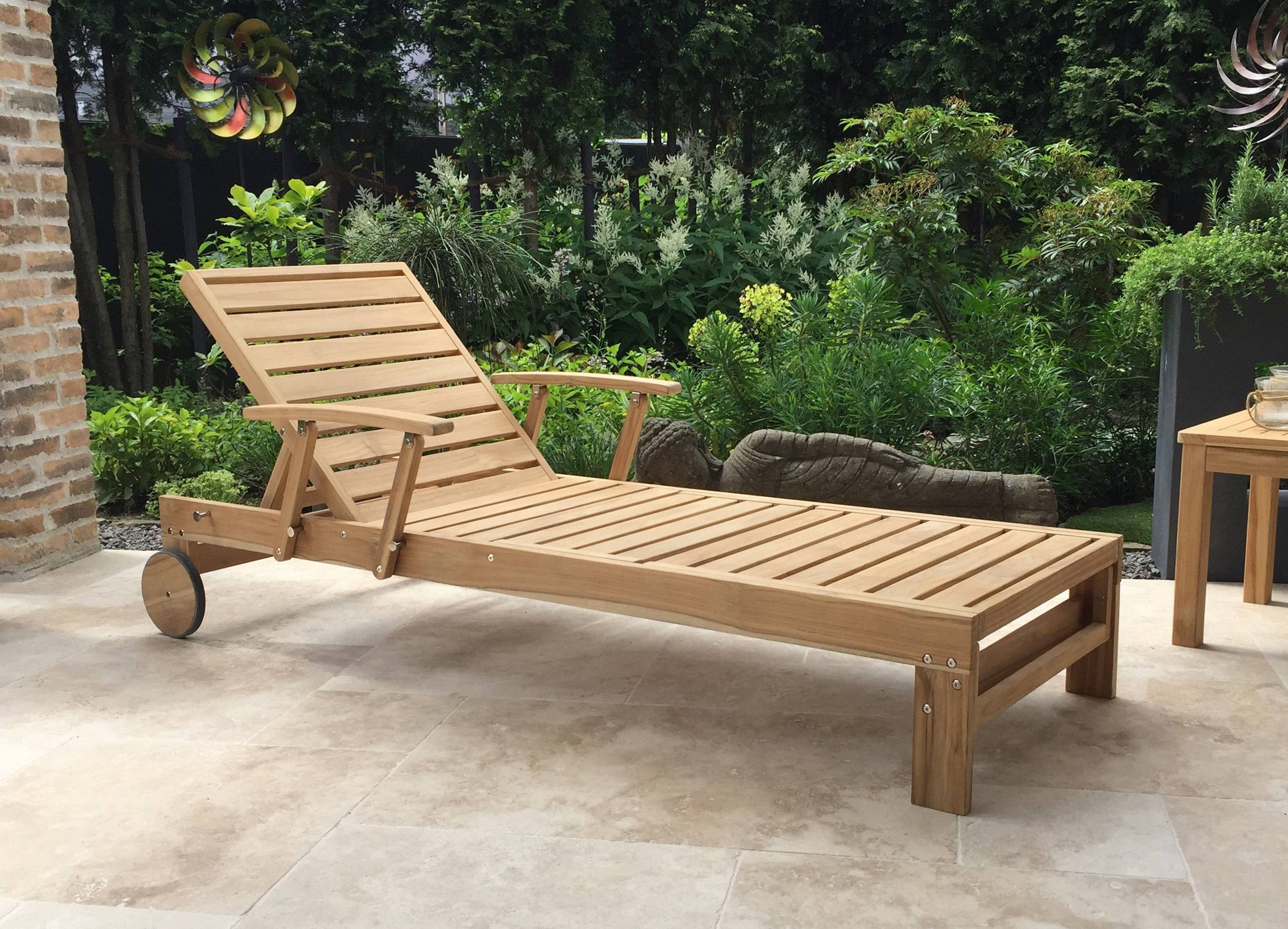 Full Size of Grasekamp Gartenliege Teak Mit Kissen Anthrazit Liegestuhl Sofa Verstellbarer Sitztiefe Relaxliege Wohnzimmer Garten Wohnzimmer Relaxliege Verstellbar