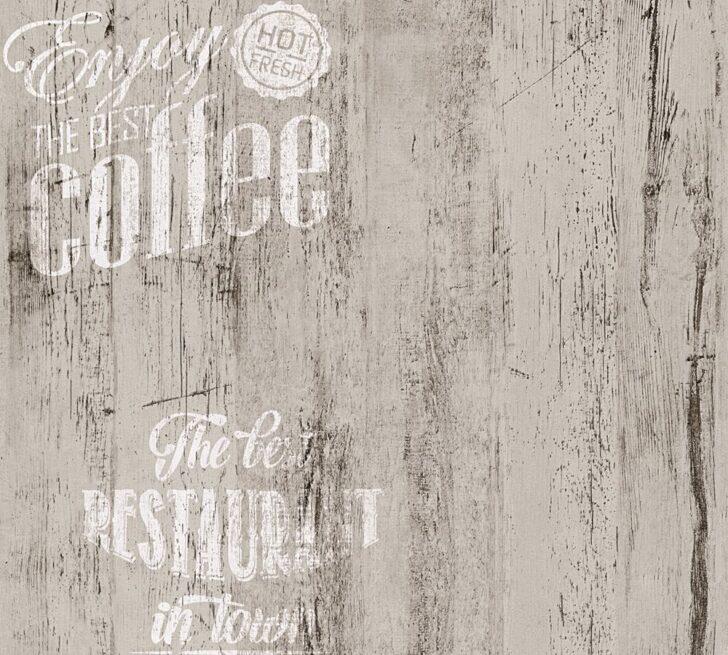 Medium Size of Retro Tapete Küche Coffee Kche Bistro Grau As Creation 33481 4 Spüle Lüftungsgitter Gebrauchte Einbauküche Singleküche Mit Kühlschrank Weiß Matt Wohnzimmer Retro Tapete Küche
