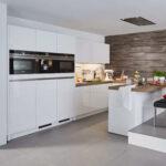 Bauformat Designkche In U Form Wei Grifflos Holz Arbeitsplatte Küche Eckschrank Wasserhahn Für Erweitern Blende Einbauküche Günstig Holzofen Mit Tresen Wohnzimmer Küche Essplatz