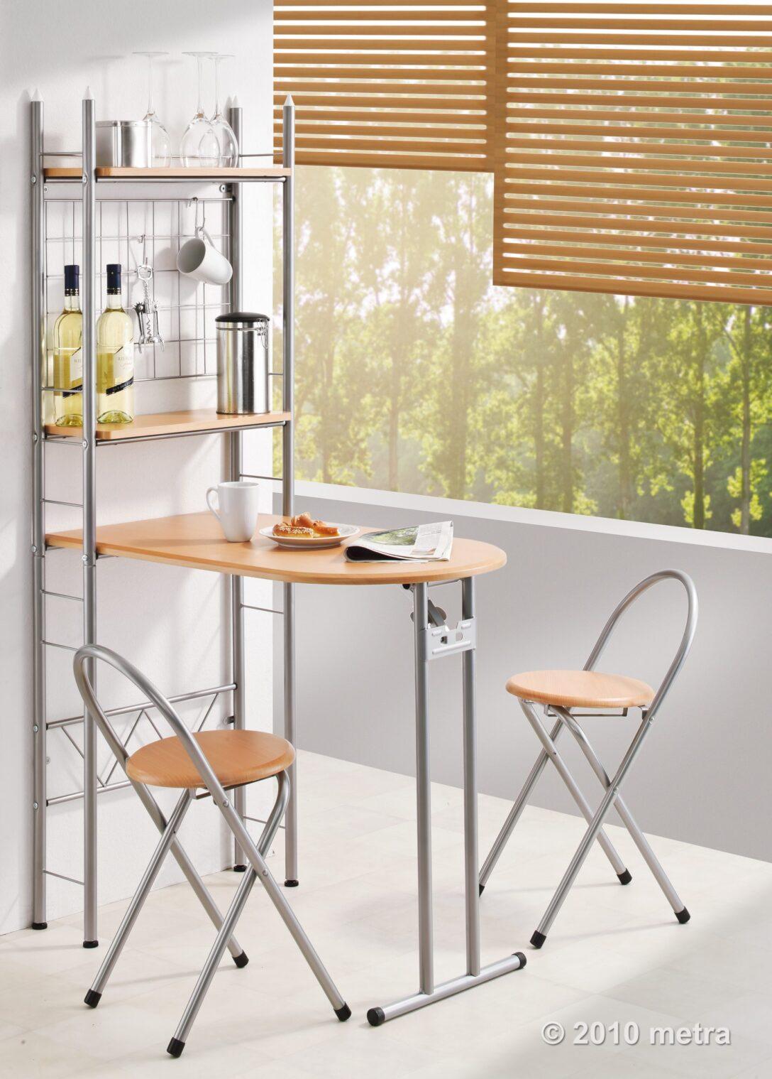 Large Size of Küchen Raffrollo Regale Kche Kchentisch Mit Regal Und 2 Sthlen Industrie Küche Wohnzimmer Küchen Raffrollo