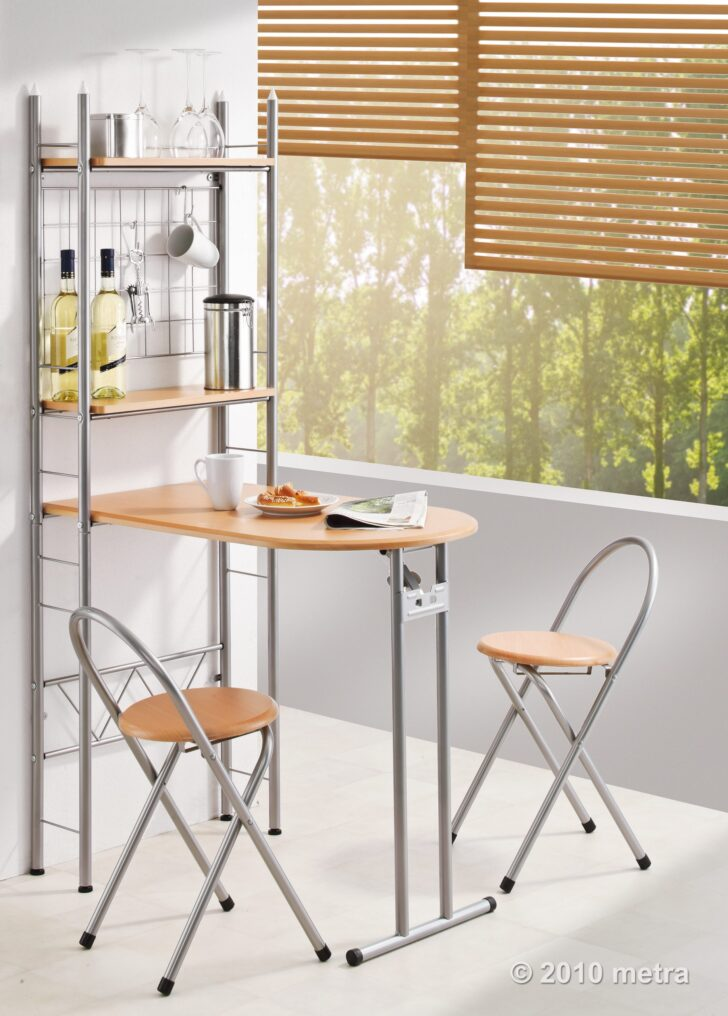Medium Size of Küchen Raffrollo Regale Kche Kchentisch Mit Regal Und 2 Sthlen Industrie Küche Wohnzimmer Küchen Raffrollo