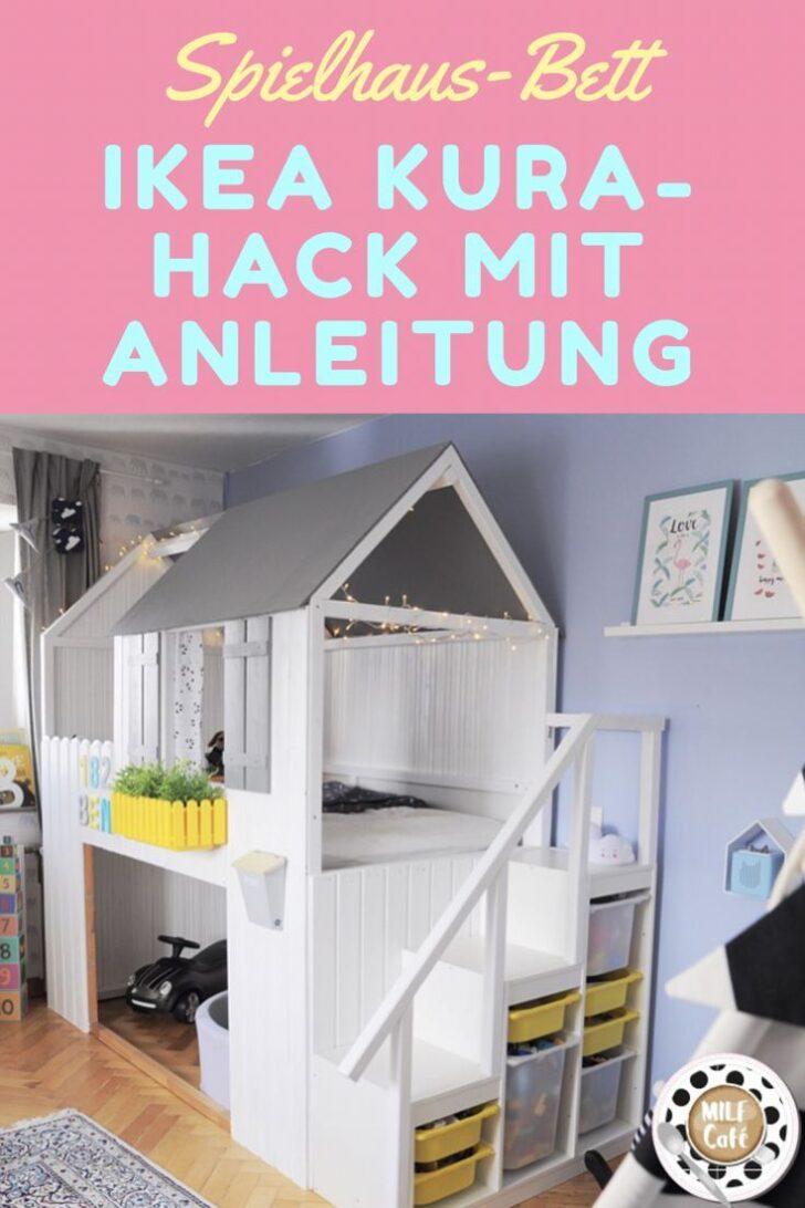 Medium Size of Kura Hack Ikea 2 Beds Storage Bunk Bed Slide House Montessori Hacks Hausbett Diy Anleitung Zum Bau Eines Mit Treppe Wohnzimmer Kura Hack