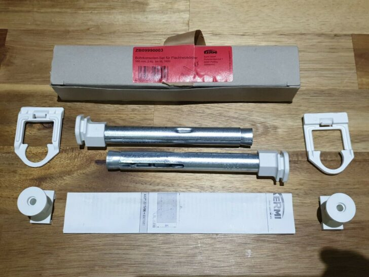 Medium Size of Kermi Flachheizkörper Bohrkonsolen Set Fr Flachheizkrper Gnstig Kaufen Ebay Wohnzimmer Kermi Flachheizkörper