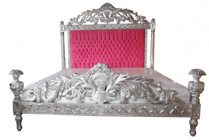 Medium Size of Casa Padrino Luxus Barock Bett Antik Rosa Silber 80x200 Amazon Jabo Betten Schwarz Weiß 140x200 Mit Stauraum Matratze Und Lattenrost Metall Großes Rauch Wohnzimmer Bett 140x200 Rosa