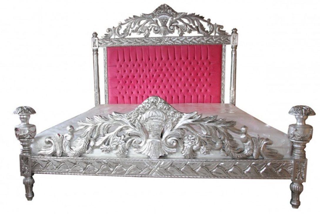 Full Size of Casa Padrino Luxus Barock Bett Antik Rosa Silber 80x200 Amazon Jabo Betten Schwarz Weiß 140x200 Mit Stauraum Matratze Und Lattenrost Metall Großes Rauch Wohnzimmer Bett 140x200 Rosa