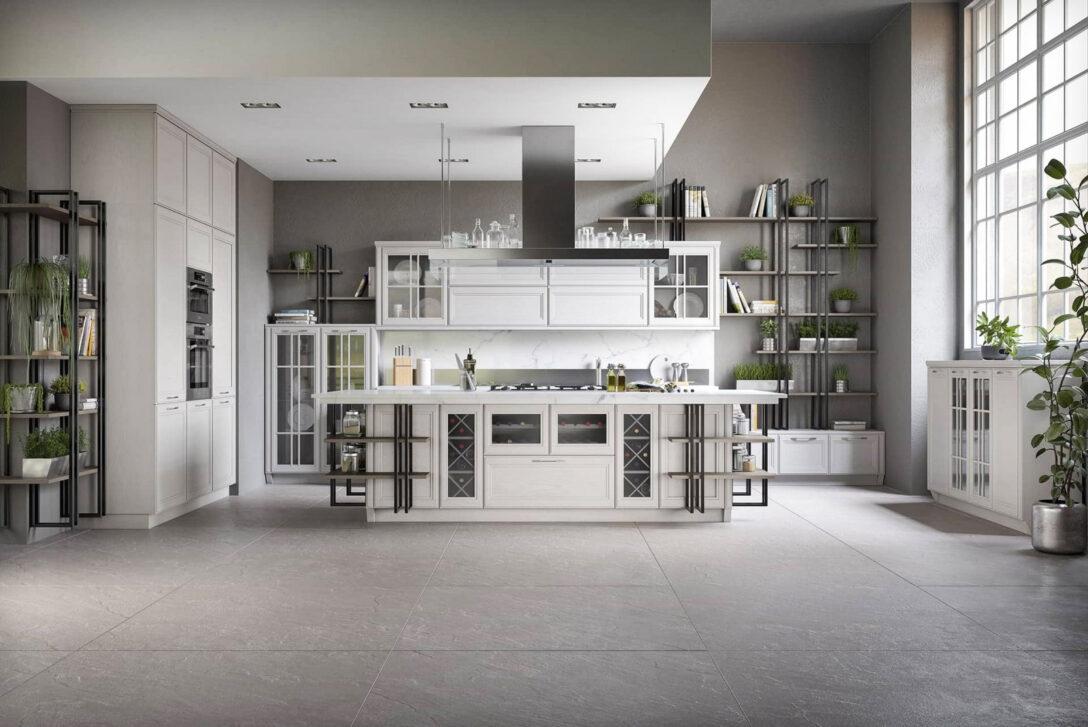 Large Size of Hängeregal Kücheninsel Moderne Loft Kche Freda Massivholz Luxus Mit Insel Küche Wohnzimmer Hängeregal Kücheninsel