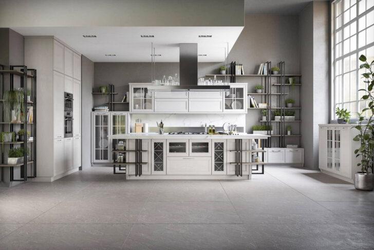 Medium Size of Hängeregal Kücheninsel Moderne Loft Kche Freda Massivholz Luxus Mit Insel Küche Wohnzimmer Hängeregal Kücheninsel