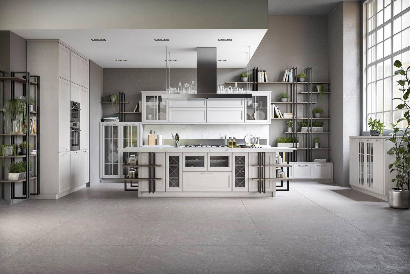 Full Size of Hängeregal Kücheninsel Moderne Loft Kche Freda Massivholz Luxus Mit Insel Küche Wohnzimmer Hängeregal Kücheninsel