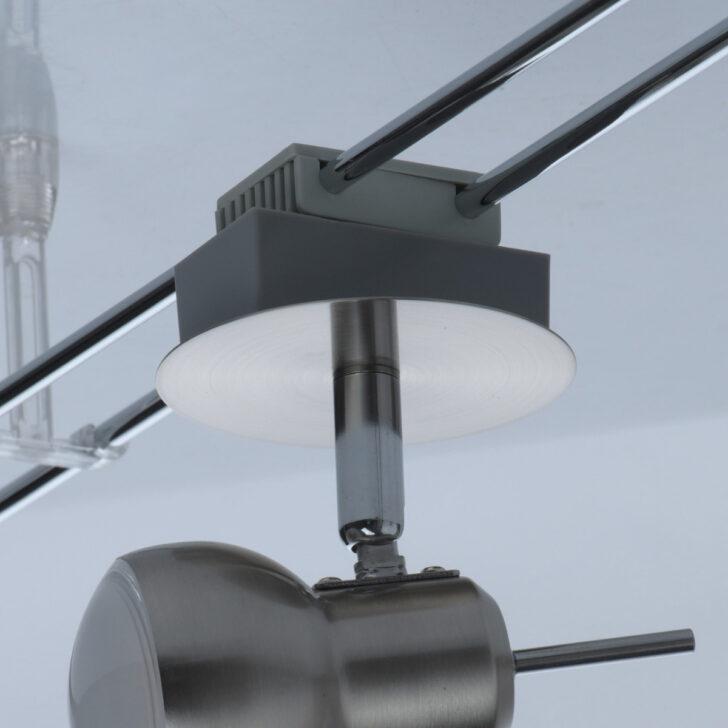 Medium Size of Schienensystem Mit Verstellbaren Led Strahlern 5 Flammig Chrom Einbauleuchten Bad Deckenleuchte Küche Lampen Wohnzimmer Echtleder Sofa Panel Spiegelschrank Wohnzimmer Led Schienensystem