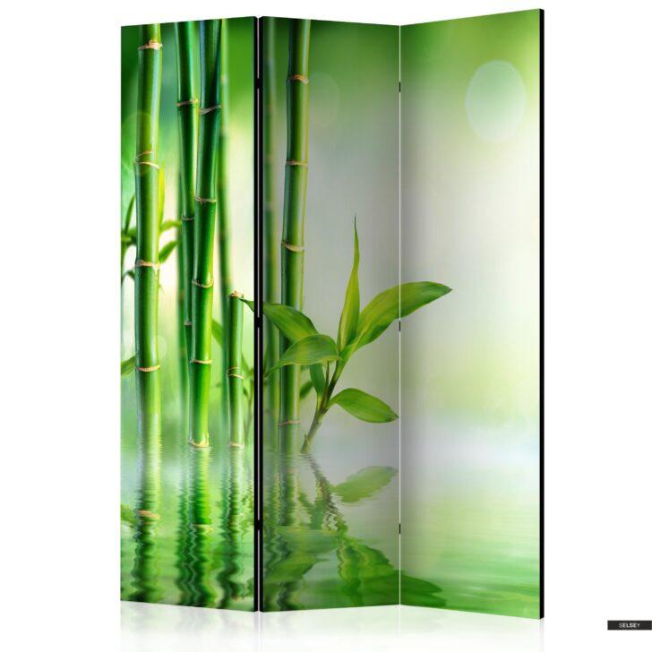 Medium Size of Paravent Bambus Grner 3 Teilig Garten Bett Wohnzimmer Paravent Bambus