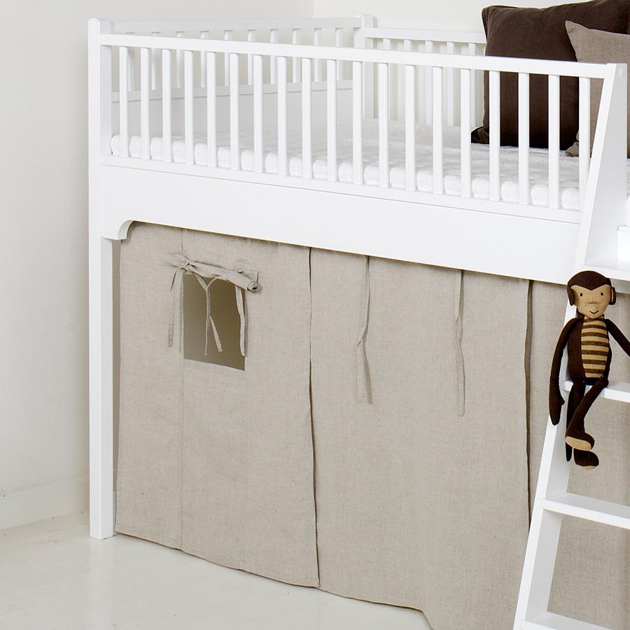 Full Size of Oliver Furniture Vorhang Natur Fr Halbhohes Hochbett O Bett Wohnzimmer Halbhohes Hochbett