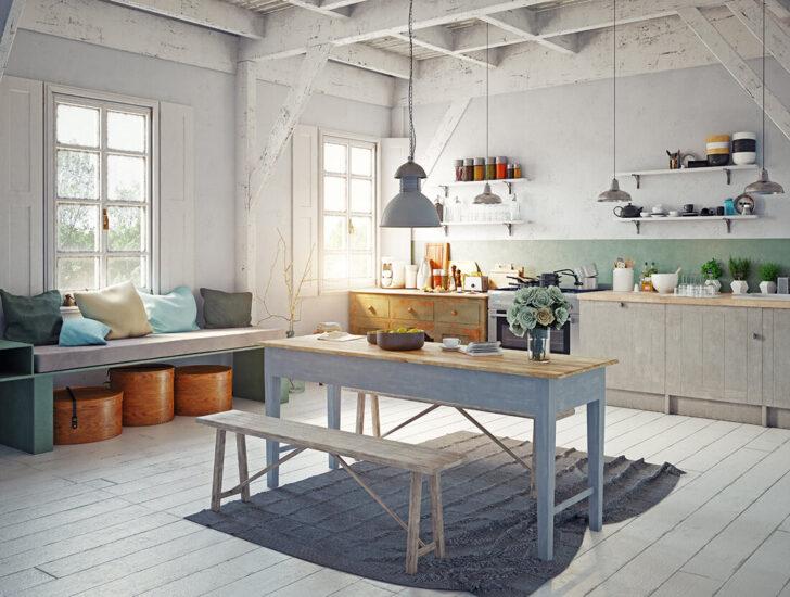Landhausküche Einrichten Kche Neu Gestalten 22 Tolle Ideen Kleine Küche Badezimmer Weisse Grau Gebraucht Weiß Moderne Wohnzimmer Landhausküche Einrichten