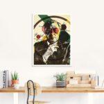 Bauhaus Küchenrückwand Wohnzimmer Bauhaus Küchenrückwand Prillustrationz Wassily Kandinsky Glasbild Artgalerie Bildershop Fenster