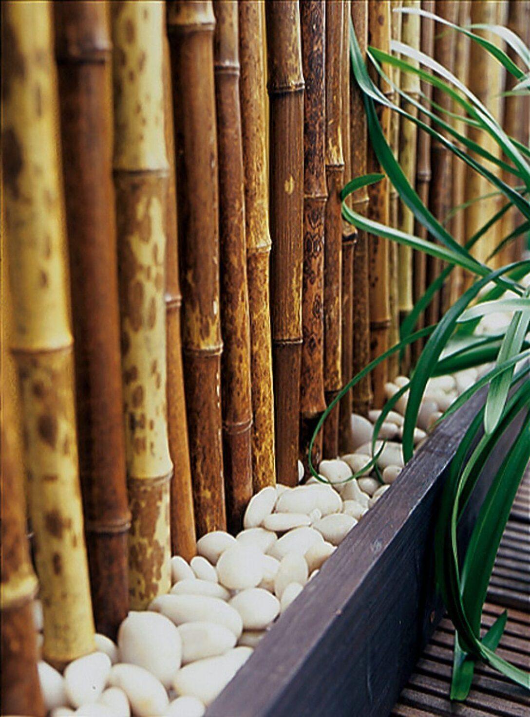 Large Size of Paravent Bambus Balkon Fotostrecke Perfekte Abschirmung Balkonschirm Campania Von Garten Bett Wohnzimmer Paravent Bambus Balkon