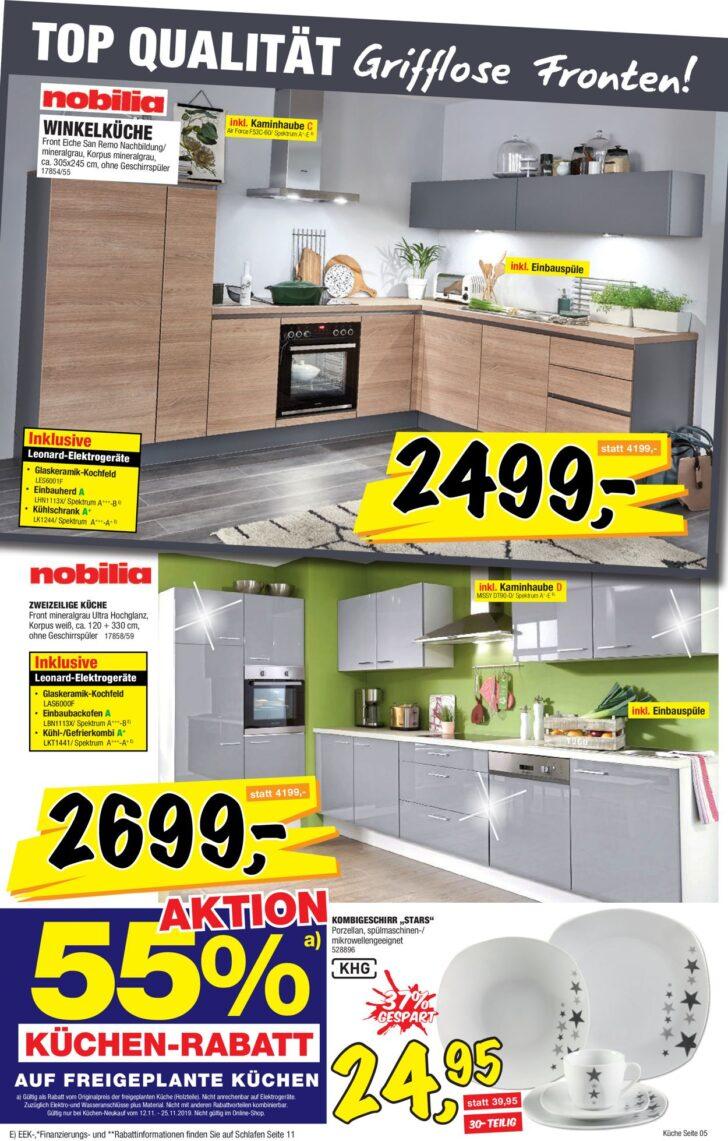 Medium Size of Sconto Küchen Aktueller Prospekt 1211 25112019 17 Jedewoche Regal Wohnzimmer Sconto Küchen